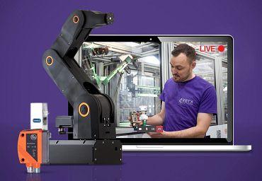 Günstige Automatisierung mit RBTXpert von igus