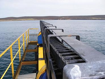 Turbine marémotrice OpenHydro