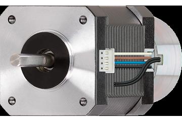 drylin® E stepper motor with brake, NEMA 17