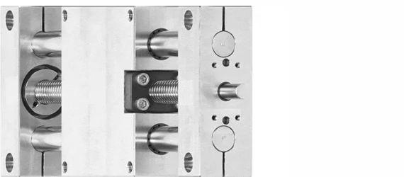 Edelstahl Linearmodul drylin SHT Baugröße 30