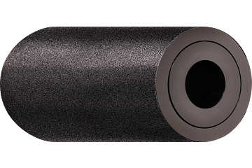 xiros® guide roller, anti-stick aluminium tube