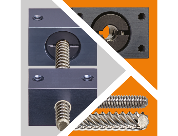 Lead screw support
