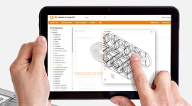 3D energy chain CAD configurator