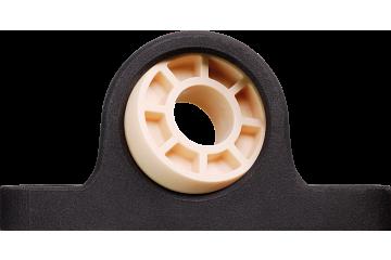 Pillow block bearing with polymer housing, igubal® JEM-SP