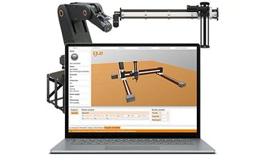 robot control software for pick and place robots