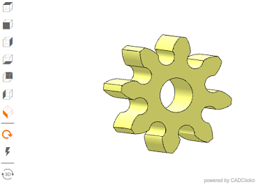 CAD configurator for gears