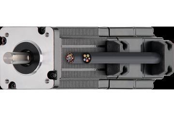 drylin® E EC/BLDC motor with stranded wires, Hall, encoder and brake, NEMA 17