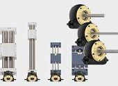Lead screw technology & drygear® Apiro gearbox