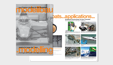 Dedicated brochure for model making