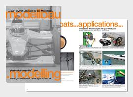 Branchenbroschüre für den Modellbau