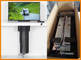 TV-Lift für Caravans