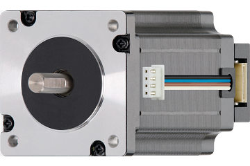 drylin® E Stepper motor, stranded wires with JST connector and encoder, NEMA 24