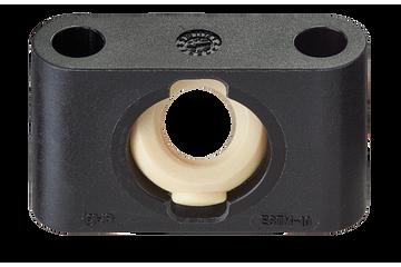 Сферическая гайка ходового винта drylin® с трапециевидной резьбой и корпусом опорного подшипника, ESTM