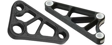 Deflection lever made of igumid P150 3D print filament, fibre-reinforced