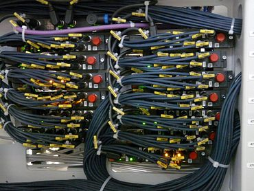 Ini cables in use
