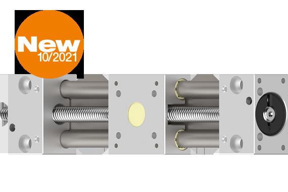 SLW robust & narrow actuator