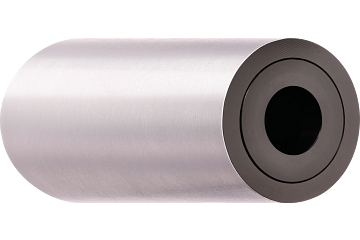 xiros® guide roller, stainless steel tube, antistatic version