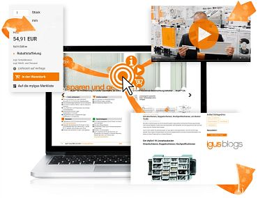 Interactive catalogue of new products