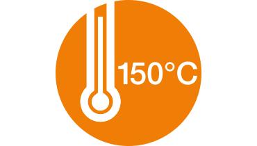 0-150 degrees Celsius
