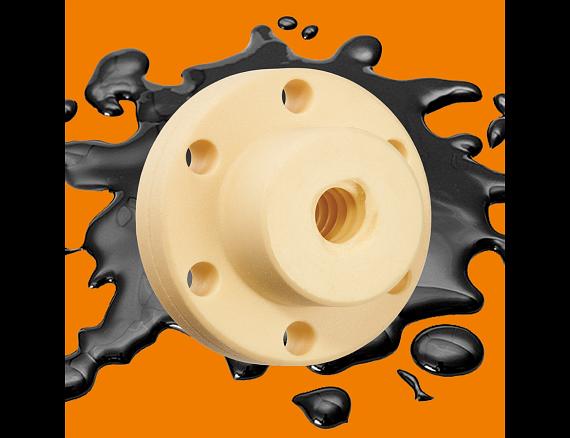 Lubrication of lead screw nut