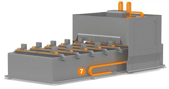 CNC-Holzbearbeitungsmaschine Rückseite